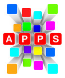 cloud of apps