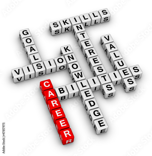 career crossword puzzle