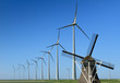 Windmills now and then