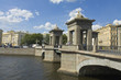 St. Petersburg, Lomonosov bridge
