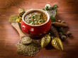 traditional christmas lentils soup