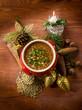traditional christmas lentils soup