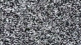 TV snow noise close-up