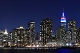 Midtown Manhattan Skyline At Night, New York City - 47821169