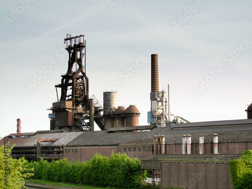 Metal foundry of Clabecq (now destroyed)
