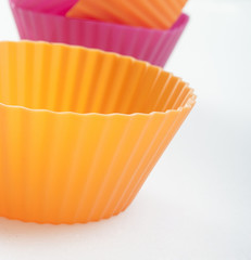 cupcake silicon close up