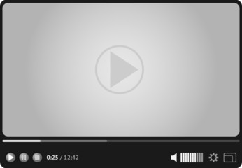 Online video player for web
