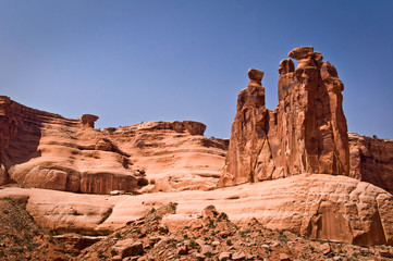 Three gossips - Arches National Park, Utah - USA