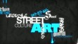 treet art urban talent show paintings word tag cloud animation