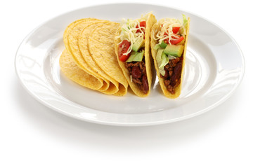 beef tacos, mexican food