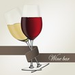 Wine bar_red & white