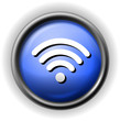 Glass wi fi icon