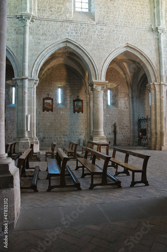Abbey of San Martino al Cimino. Lazio. Italy.