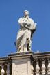 Saint Ignatius Loyola statue in Vatican colonnade