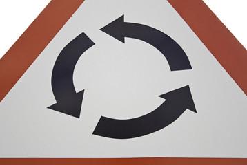 Roundabout signal