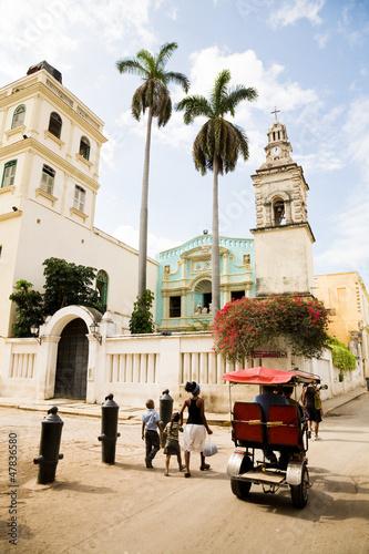 Fotobehang Caraïben Belen Convent, Havana