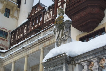 Royal Peles Castle, ornamental statue