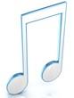 3D music tune.