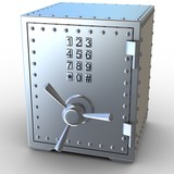 Security metal safe
