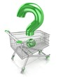 Shop question with shopping cart
