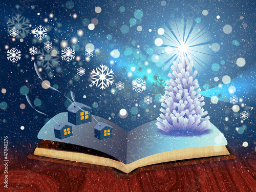 Magic winter book