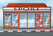 A sports store