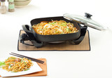 electric pan for fast and comfortable cooking