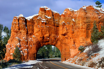 Rock Tunnel Dixie National Forest