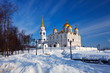 Assumption cathedral  at Vladimir in winter