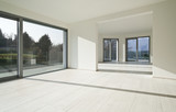 modern architecture, new empty apartment, interior