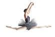 Ballerina in Indigo