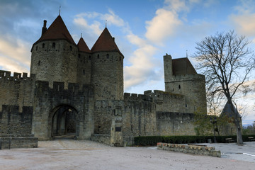 Entrée de la cité de Carcassonne