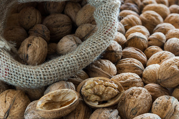 Walnuts with Bag