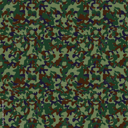 Seamless military background, vector Eps8 illustration