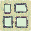 scrapbooking vintage frames for boy