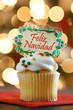 Feliz Navidad Cupcake