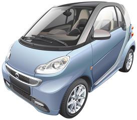 modern subcompact car