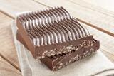 Chocolate with puffed rice