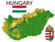 Hungary Europe national emblem map symbol motto