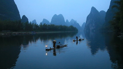 Fishermen in China