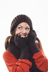 Kuschelige Winterkleidung