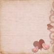 Happy Valentines Day. Vintage background with space for text or