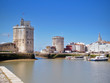 Harbour of La Rochelle, France