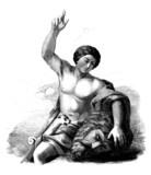 David : killed Goliath poster