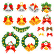 Christmas decorative Icons sets. Creative Icon Design Series.