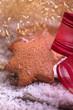 Handgemachte Lebkuchen Plätzchen