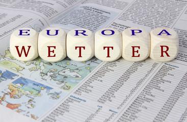 Europawetter - Konzept