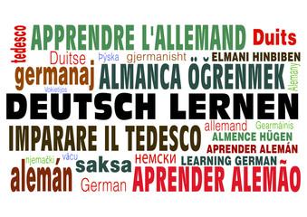 """""""Deutsch und Deutsch Lernen!"""" in vielen Sprachen"""