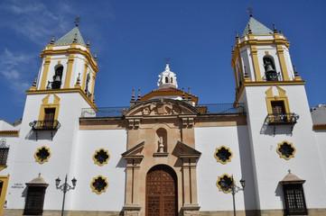 Parish of Our Lady of Socorro, Ronda, Malaga (Spain)