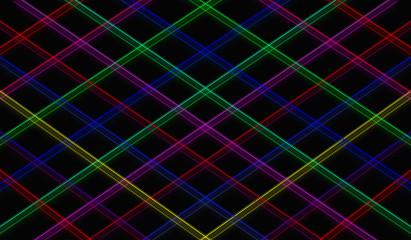 line a square